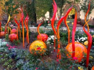 Chihuly Exhibit at Denver Botanical Gardens