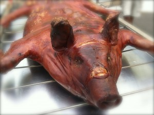 CalmUp® photo of smoked pig
