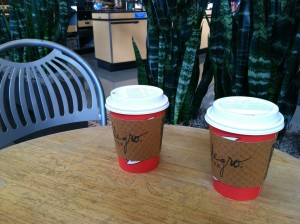 CalmUp® photo of coffee cups