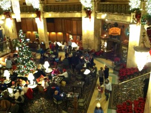 CalmUp® photo of Brown Palace lobby