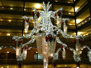 Chandelier at Brown Palace Hotel